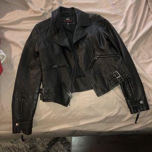 Miss Sixty Jackets & Coats - Women's leather jacket